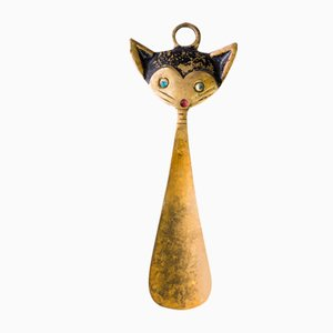 Cat Shoehorn by Walter Bosse for Hertha Baller, 1950s