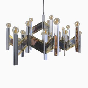 arge 21-Light Concorde Chandelier by Gaetano Sciolari
