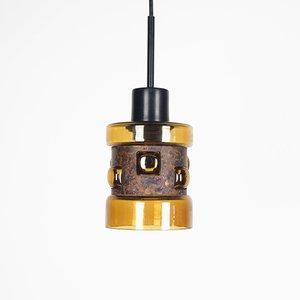 Lampe à Suspension par Victor bernt pour Flygsfors, 1960s