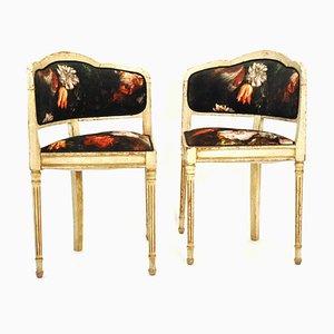 Chaises d'Angle Vintage, France