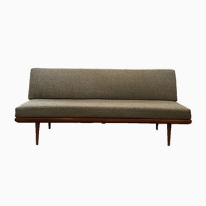 Modernes Mid-Century Sofa mit Gestell aus Teak von Peter Hvidt & Orla Mølgaard-Nielsen für France & Søn / France & Daverkosen, 1960er
