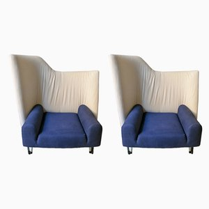 Vintage Italian Torso Lounge Chairs by Paolo Deganello for Cassina, 1982, Set of 2