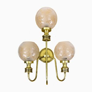 Spanish 3-Arm Sconce, 1950s