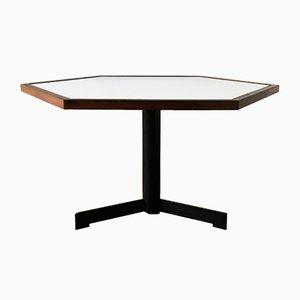 Table de Salle à Manger Hexagonale, Pays-Bas, 1970s