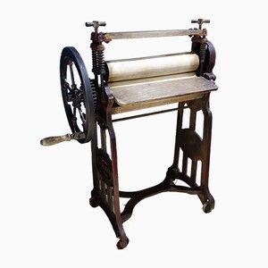 Antike Kleiderpresse von Pioneer