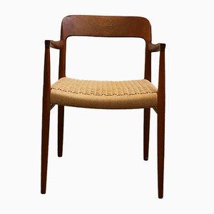 Modell 56 Armlehnenstühle von Niels Otto Møller für J.L. Møllers, 1960er