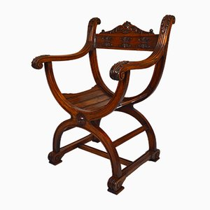 Antique French Renaissance Revival Armchair