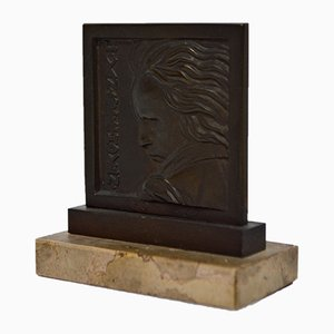 Bronze Beethoven Sculpture by Henri Dropsy for Henri Dropsy, 1920s