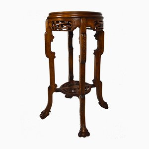 Antique Japonisme Side Table by Gabriel Viardot, 1890s