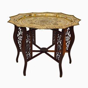 Tavolino da caffè Dragon antico intagliato, fine XIX secolo