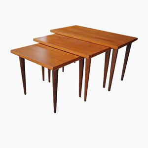 Tables Gigognes Scandinaves, 1970s