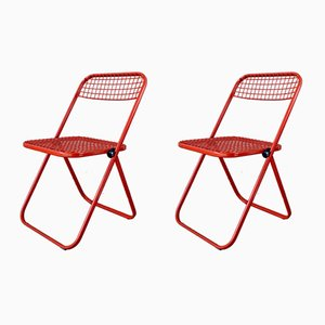 Italian Dining Chairs, 1960s, Set of 2