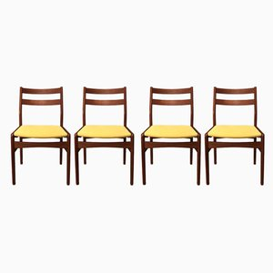 Vintage Danish Dining Chairs, 1970s, Set of 4