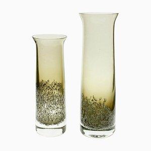 Vases par Heinrich Löffelhardt pour Schott Zwiesel, 1950s