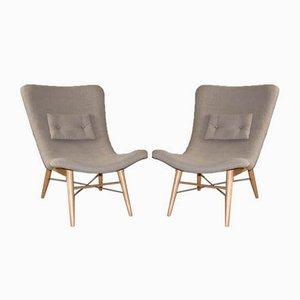 Stühle von Miroslav Navratil, 1950er, 2er Set