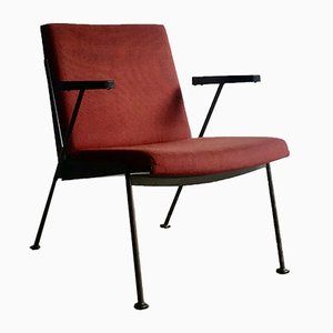 Oase Lounge Chair by Wim Rietveld for Ahrend De Cirkel, 1950s