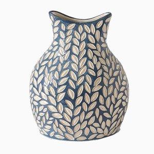 Blaue Aqua Vase von Atelier KAS