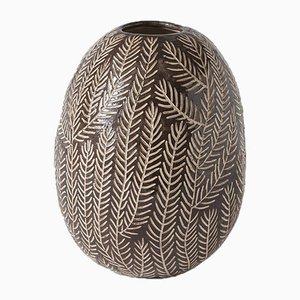Schwarze Aqua Vase von Atelier KAS