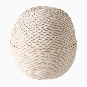 White Egg Pineal Box by Atelier KAS