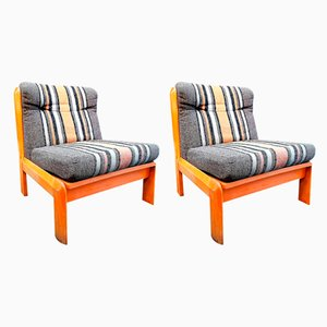 Lounge Chairs from Guilleumas, 1970s, Set of 2