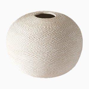White Sphere Pineal Vase by Atelier KAS