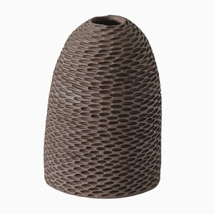 Brown Cone Pineal Vase by Atelier KAS