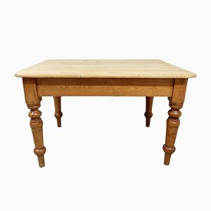 Table de Salle à Manger Antique en Pin