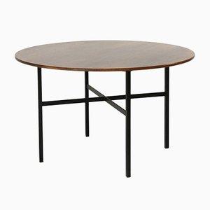 Mesa de comedor redonda de Florence Knoll Bassett para Knoll Inc./Knoll International, años 50