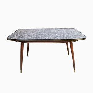 Tavolino da caffè Mid-Century in legno e resopal, Germania, anni '50