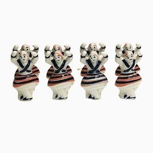 Figurines Muñeiras de Sargadelos, 1980s, Set de 8