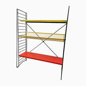 Metal Standing Bookshelf by Adriaan Dekker for Tomado, 1950s