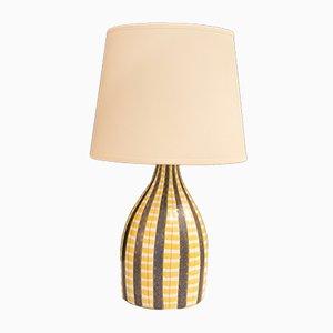 Lampada da tavolo in ceramica di Stig Lindberg per Gustavsberg, anni '60