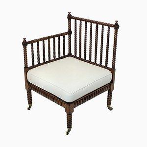 Chaise d'Angle Antique en orme