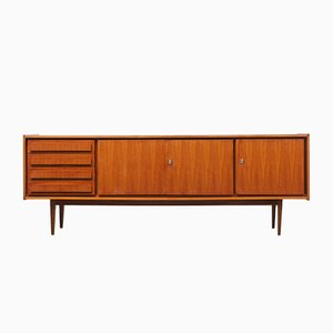 Swedish Walnut Veneer Sideboard from Royal Board, 1960s