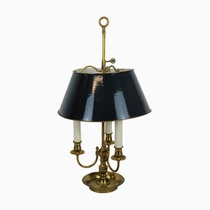 Antique French Brass Table Lamp