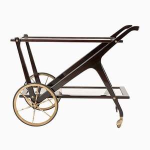 Italian Tea Cart by Ico Luisa Parisi for De Baggis, 1950s