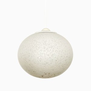 Opaline Glass Pendant Lamp from Peill & Putzler, 1960s