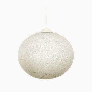 Opaline Glass Pendant Lamp from Peill & Putzler, 1960s