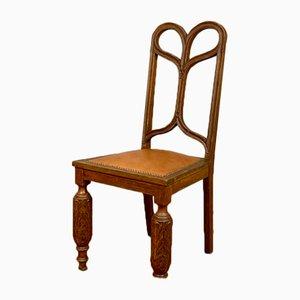 Antiker englischer Beistellstuhl