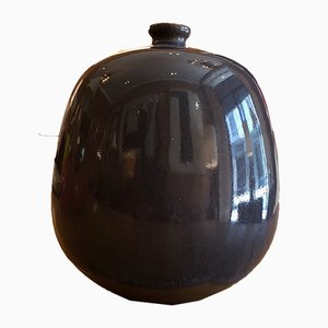 Jarrón vintage de cerámica de Jacques & Dani Ruelland, años 60
