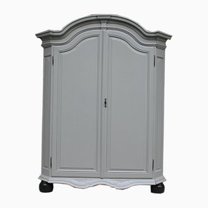 Antique Linen Wardrobe, 1860s