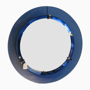 Round Italian Mirror from Veca, 1970s