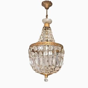 Mid-Century Bag of Pearls Ceiling Lamp