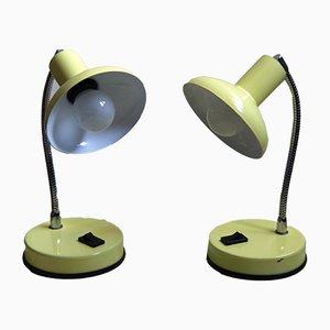 Lámparas de mesa italianas de Veneta Lumi, años 60. Juego de 2