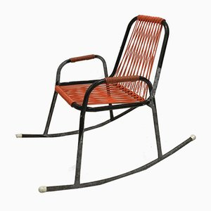 Mid-Century Childrens Rocking Chair from Rohé Noordwolde