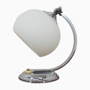 Lámpara de mesa Art Déco pequeña, años 30