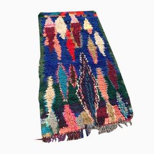 Marokkanischer Vintage Boucherouite Teppich, 1980er