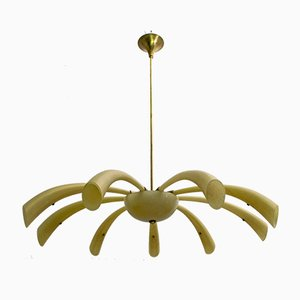 Fireworks Murano Glass Chandelier by Angelo Barovier from Barovier & Toso, 1958