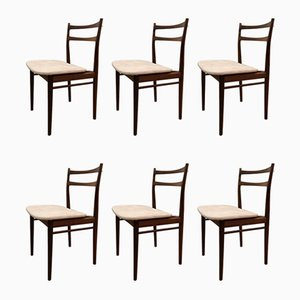 Danish Brazilian Rosewood Dining Chairs by Henry Rosengren Hansen for Brande Møbelindustri, 1962, Set of 6