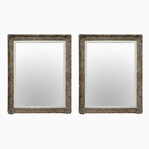 Mid-Century French Mirrors, 1950s, Set of 2